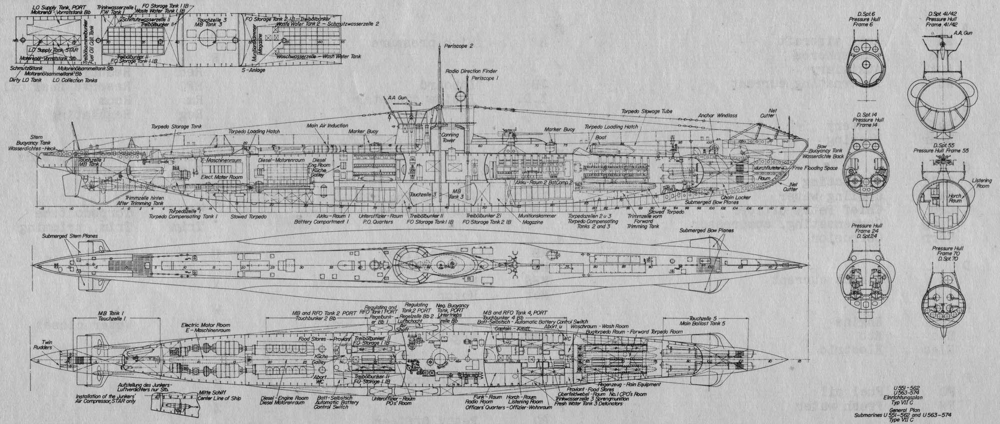 us wwii submarine diagram  us  free engine image for user