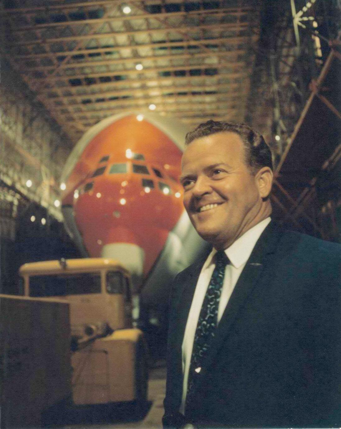 HighFlight Guppy1 John Conroy, inventor of the Pregnant Guppy and Super Guppy.