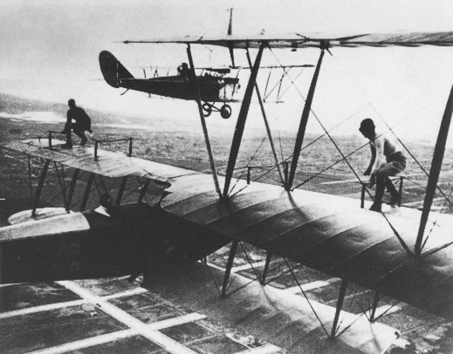 First Aerial Refueling ‹ HistoricWings com :: A Magazine for
