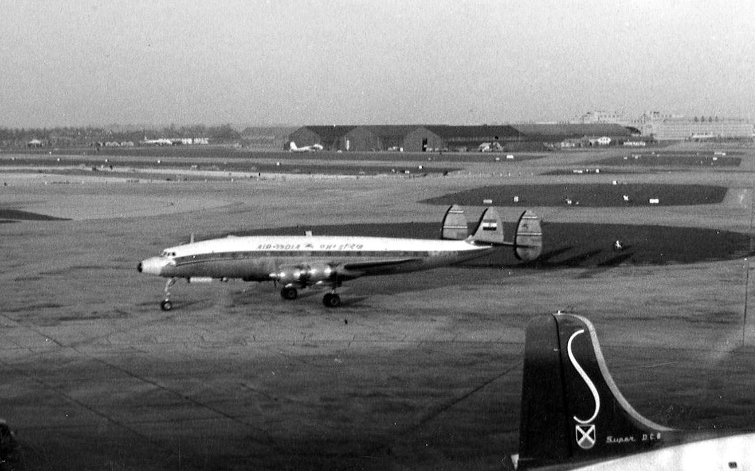 The Kashmir Princess was a chartered Lockheed L-749A Constellation aircraft owned by Air India. On 11 April 1955, it was damaged in midair by a bomb explosion and crashed into the South China Sea