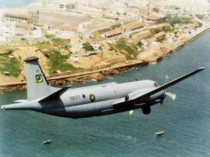 A PAF Br.1150 Atlantique reconnaissance plane.