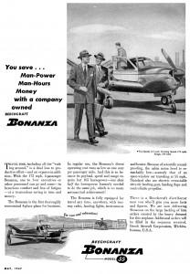 Advertising from 1947 -- Beech introduces the Bonanza to a hungry post-war general aviation marketplace!