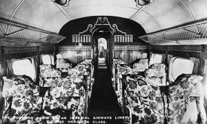 The cabin of the Heracles, flying in style in the late-1930s!