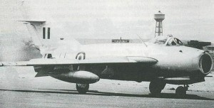 An Egyptian MiG-17F, probably in the early 1960s.  Photographer Unknown.