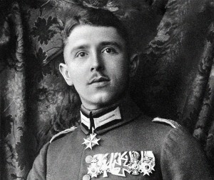 "Max Immelmann, ""Der Adler von Lille"" -- one of Germany's first great aces."