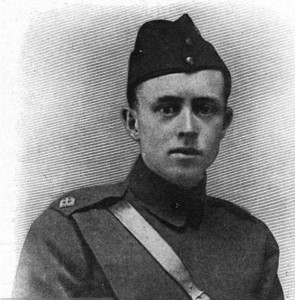 Second Lieutenant G.R. McCubbin, RFC