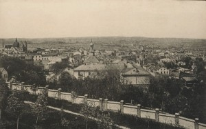A contemporary photograph of Chelm, in what was then occupied Poland.  Source:  Photo Postcard