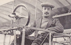 Anselme Marchal, a well-known early French aviator, shown here in prewar France, c.1911.