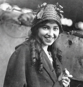 Katherine Stinson showing off her stunning looks and great smile, which she used to her great advantage and popularity throughout her flying career.