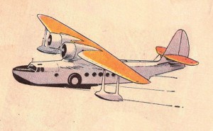Contemporary illustration of a Sikorsky JRS-1 in pre-war scheme for easy identification.