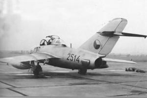 Czechoslovakian MiG-15 UTI, c. early 1950s.