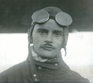 Duncan McIntyre, chief pilot of the Curtiss-Southwest Airplane Company; he almost certainly did not participate in the firebombing, though his pilots did.  Photo Credit:  Tulsa Air and Space Museum