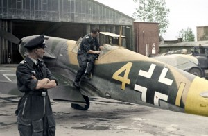 "Ofw. Eberhard von Boremski and ""Yellow 4"" of 9./JG 3 ""Udet"" heads to the Eastern Front"