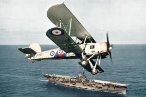 Royal Navy Fairey Swordfish Torpedo Plane