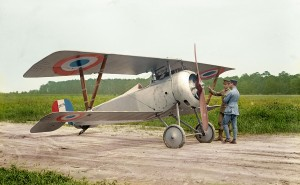 French Nieuport Type 17 Pursuit Plane