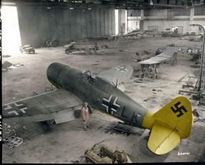 """Captured P-47D """"Razorback"""" Thunderbolt with the Beute-Zirkus Rosarius"""