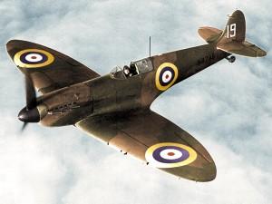 Spitfire Mk. I of No. 19 Squadron