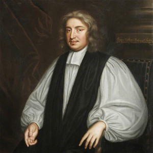 Portrait of Bishop John Wilkins.