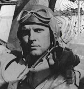 IAF Volunteer pilot Wayne Peake.