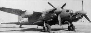 RAF 13 Squadron Mosquito PR34.  Photo Credit:  Ken Tucker