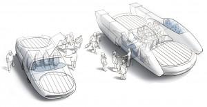 "Urban Aeronautics, an Israeli company, is well on the way to commercializing its self-flying ""fancraft"".  Illustration Credit: metro-skyways.com"
