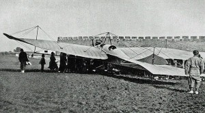 Lt. Plüschow's Rumpler Taube in China, 1914.