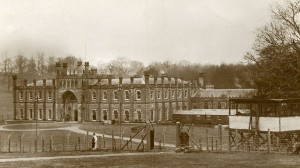 Donington Hall as it appeared during World War I.  Photo Credit:  BBC