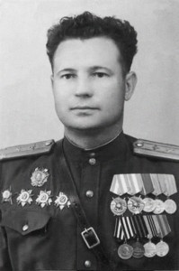 Col. Ivan E. Fyodorov, at the end of World War II.