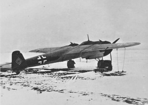 A Dornier Do 17 fast bomber of the Luftwaffe in the Soviet Union during the early part of the war -- in 1941.  Photo Credit:  Josef Gierse