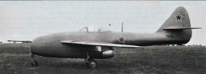 The Lavochkin La-160, the first Soviet jet capable of exceeding 1,000 kmph.