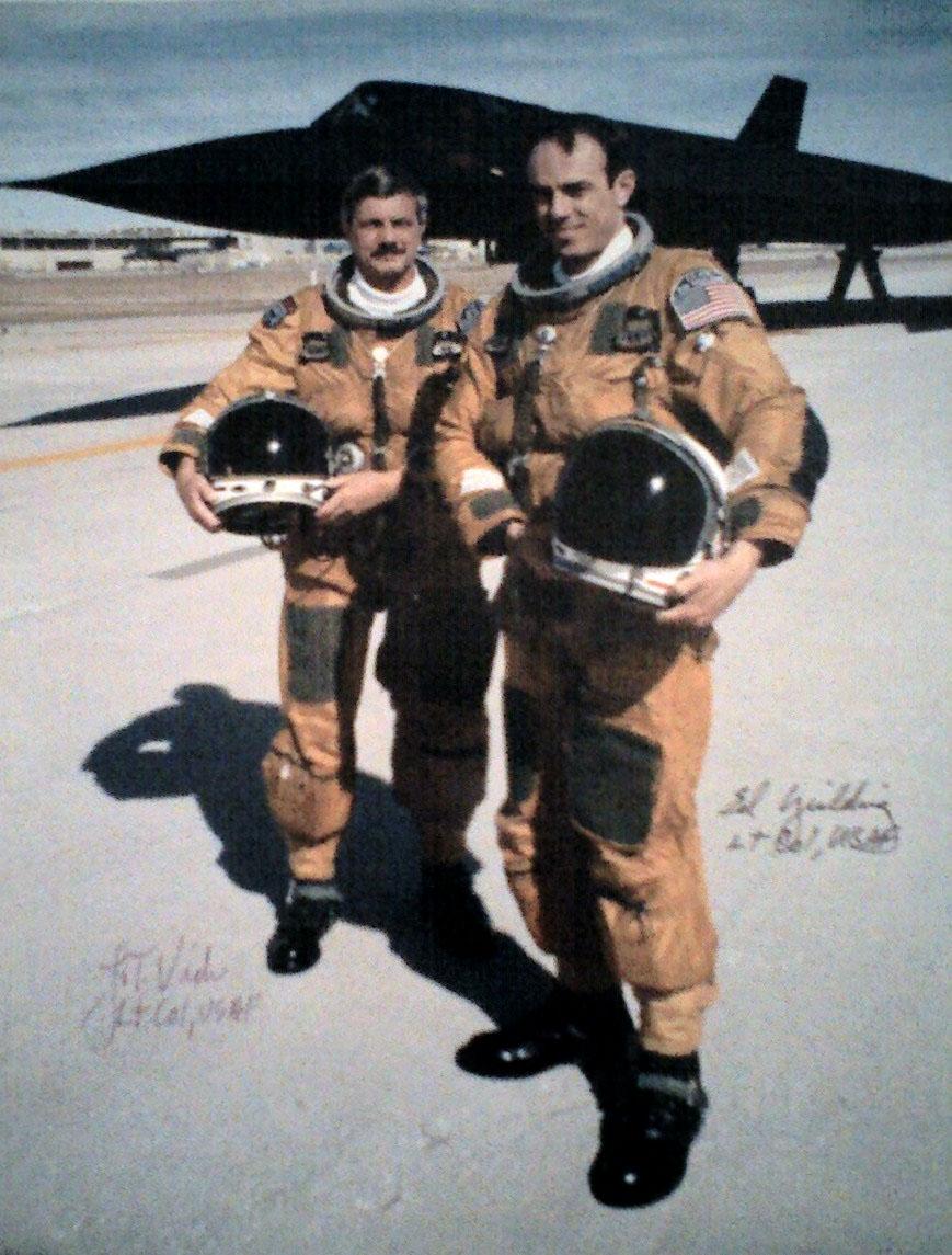 The LA speed story (SR-71 Blackbird)